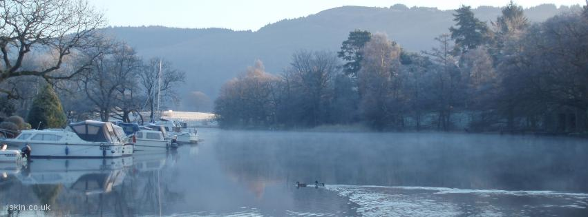 facebook header Lakeside Winter Morning