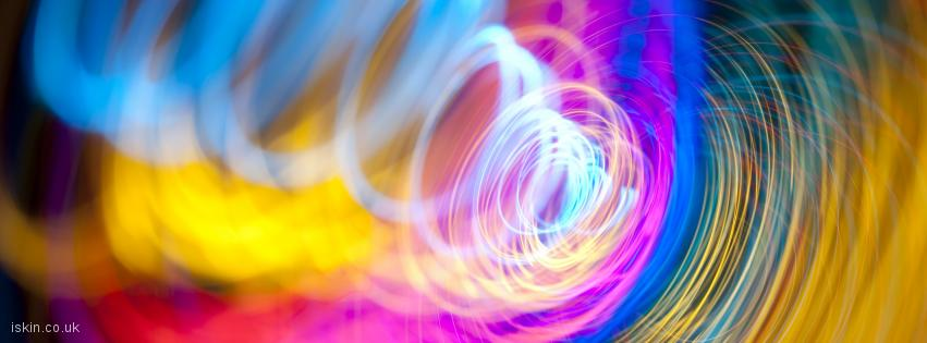 facebook header light sprial