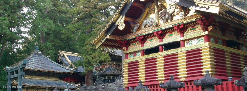 facebook header Nikko Golden Temple