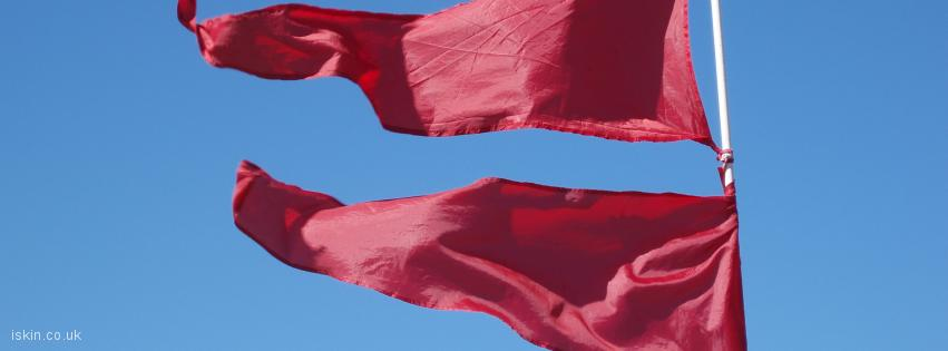 facebook header Red Flag Day