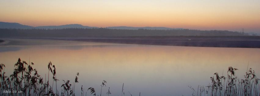 facebook header Estuary Sunrise