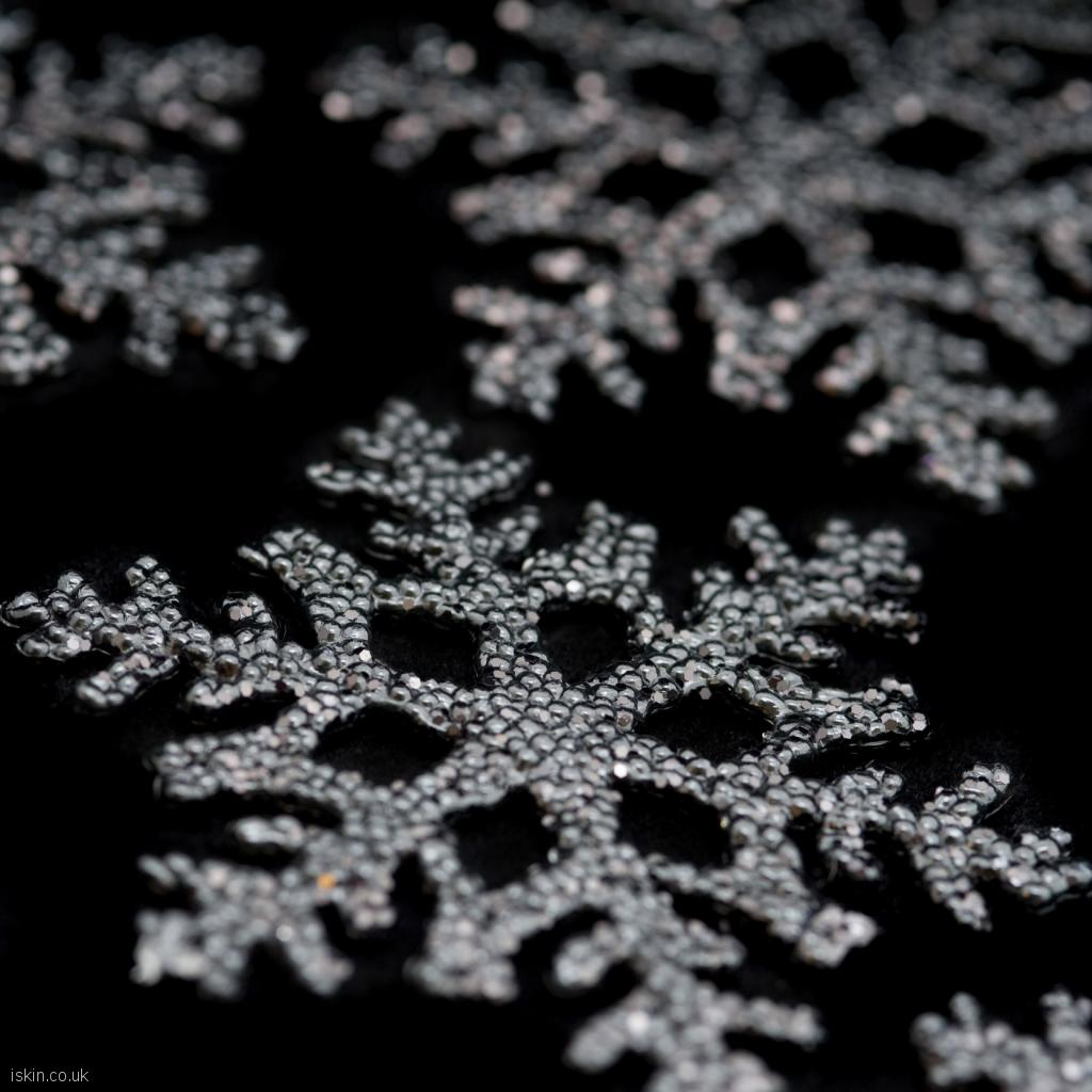 ipad wallpaper snowflakes