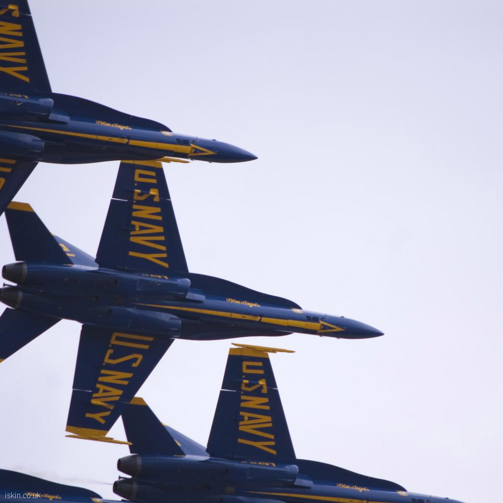 ipad wallpaper Blue Angels Display Team