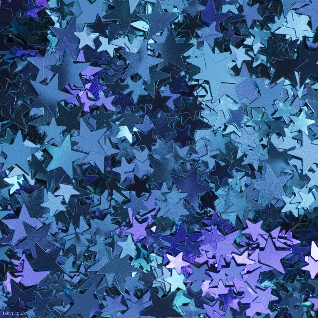 ipad wallpaper shiny blue stars