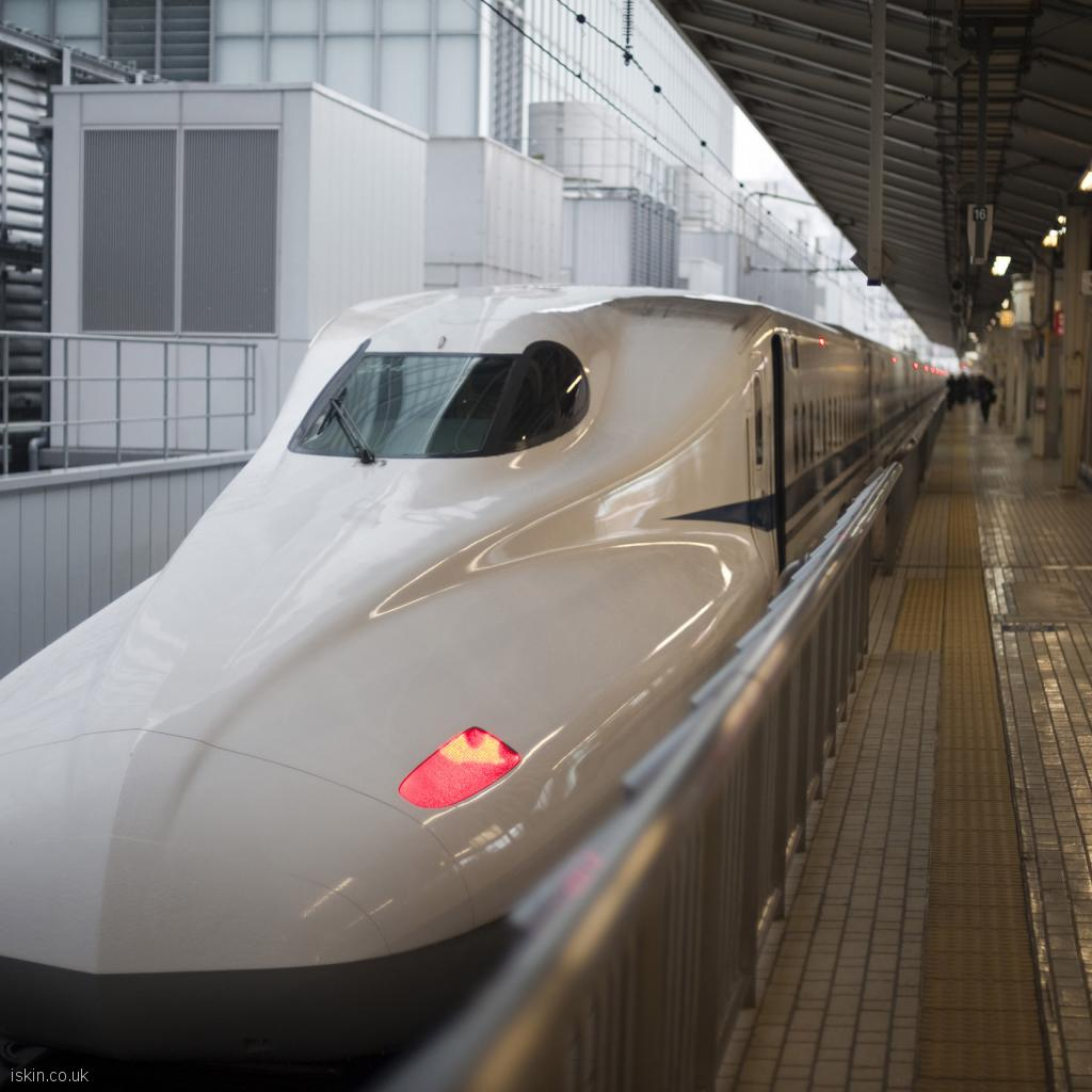 ipad wallpaper bullet train