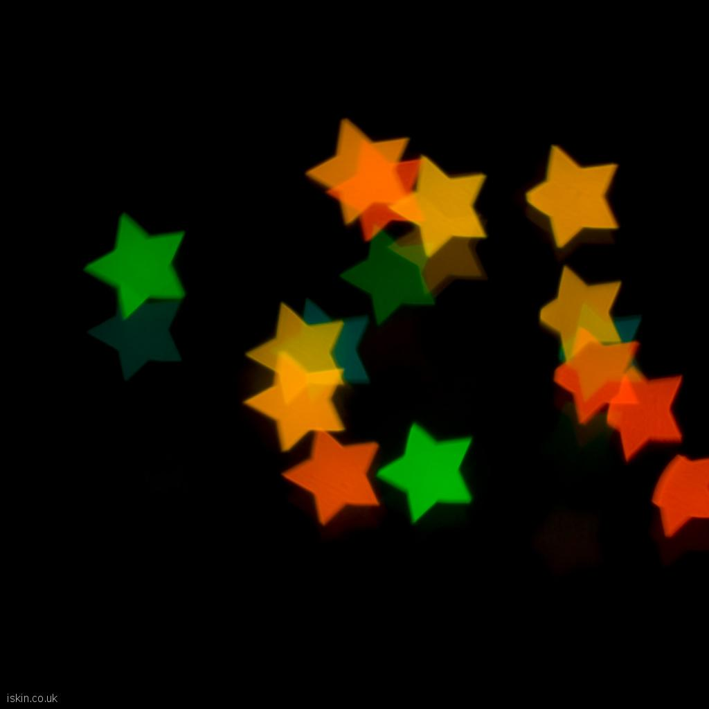 ipad wallpaper Christmas Star Lights