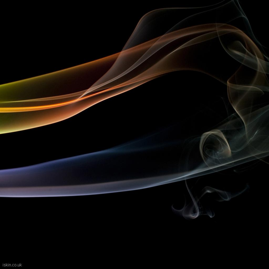 ipad wallpaper ethereal smoke lines