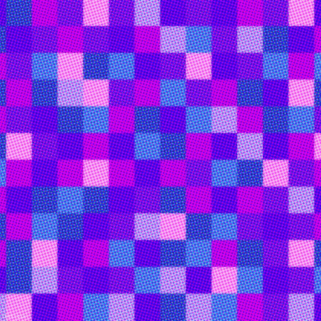ipad wallpaper halftone dots and squares