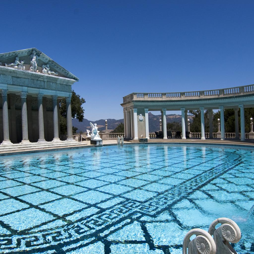 ipad wallpaper hearst castle