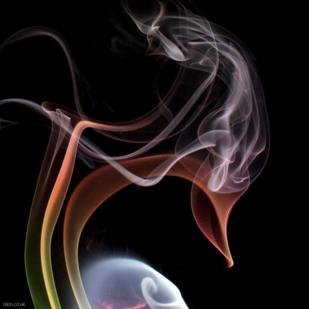 ipad wallpaper chaotic smoke cloud