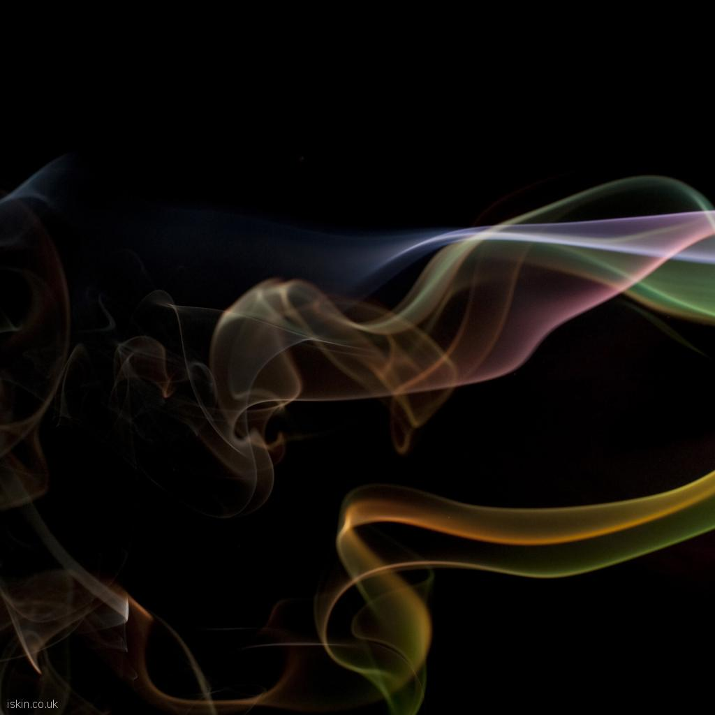 ipad wallpaper colorful smoke whisps