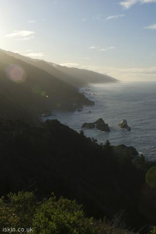 iphone portrait wallpaper big sur morning light