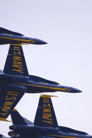 iphone portrait wallpaper Blue Angels Display Team