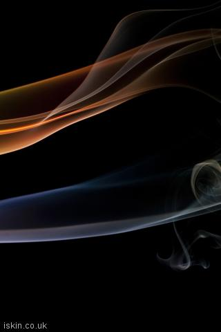 iphone portrait wallpaper ethereal smoke lines