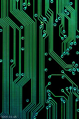 iphone portrait wallpaper electronic circuits