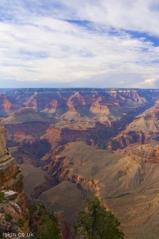 iphone portrait wallpaper grand canyon panorama