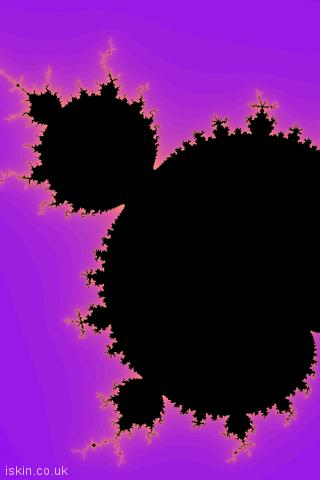 iphone portrait wallpaper Mandelbrot Fractal