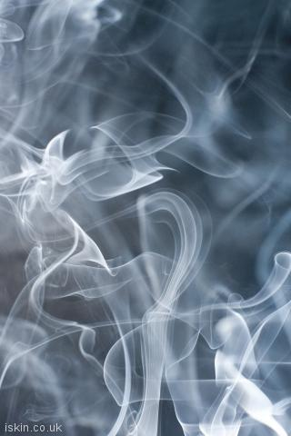 iphone portrait wallpaper ethereal smoke background
