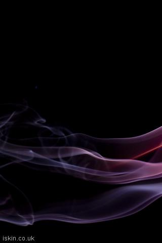 iphone portrait wallpaper brightly colored smoke