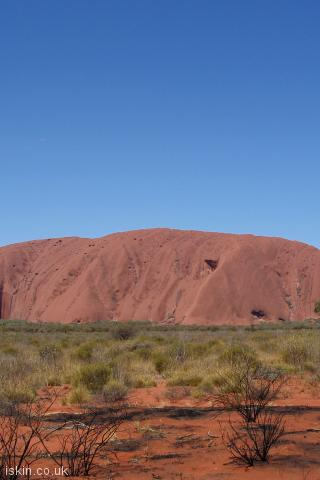 iphone portrait wallpaper Uluru