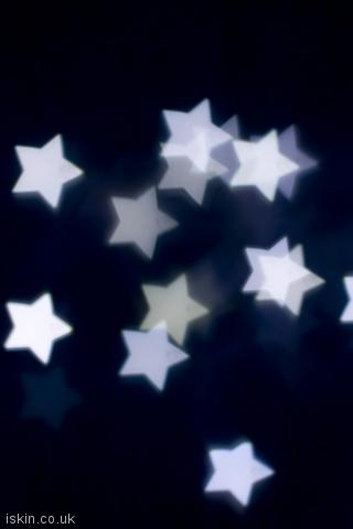 iphone portrait wallpaper White Stars