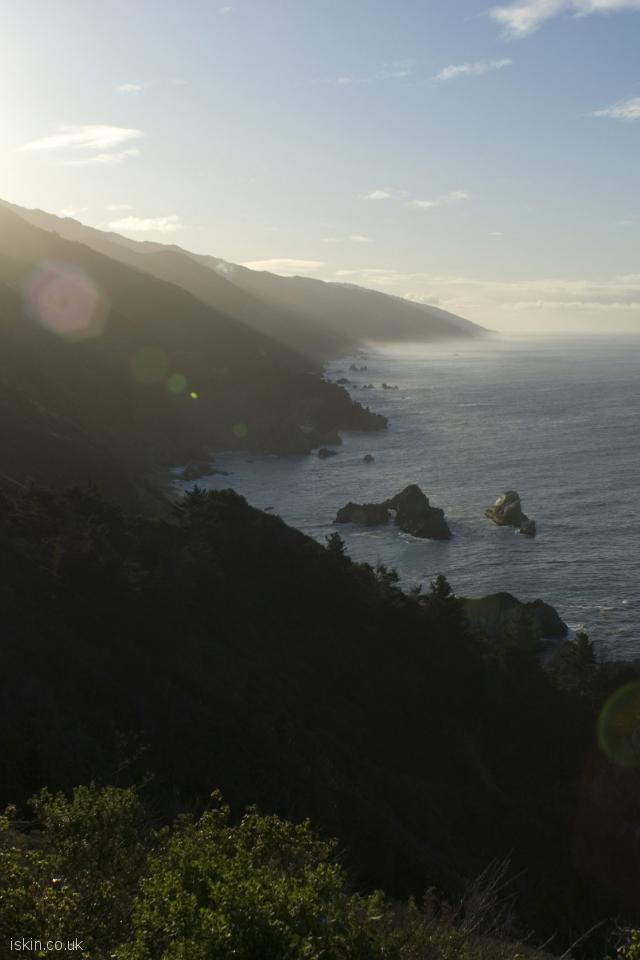 iphone 4 portrait wallpaper big sur morning light