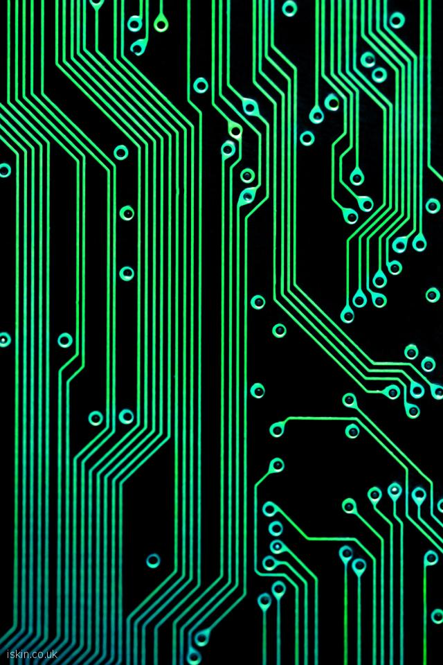 iphone 4 portrait wallpaper electronic circuits