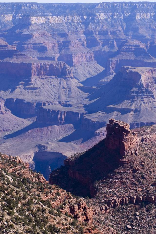 iphone 4 portrait wallpaper grand canyon geology