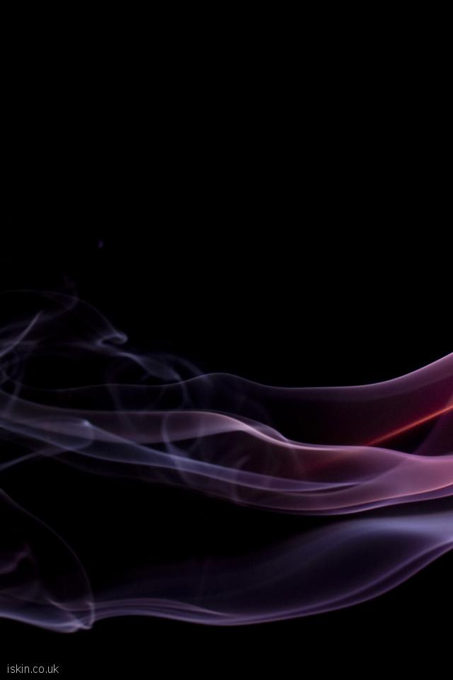 iphone 4 portrait wallpaper brightly colored smoke