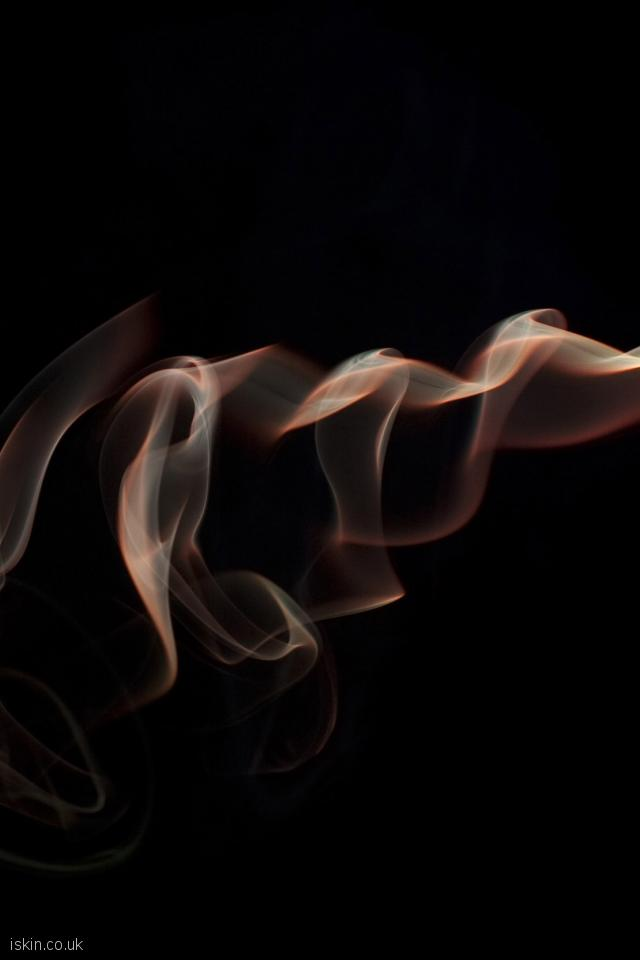 iphone 4 portrait wallpaper smoke abstract