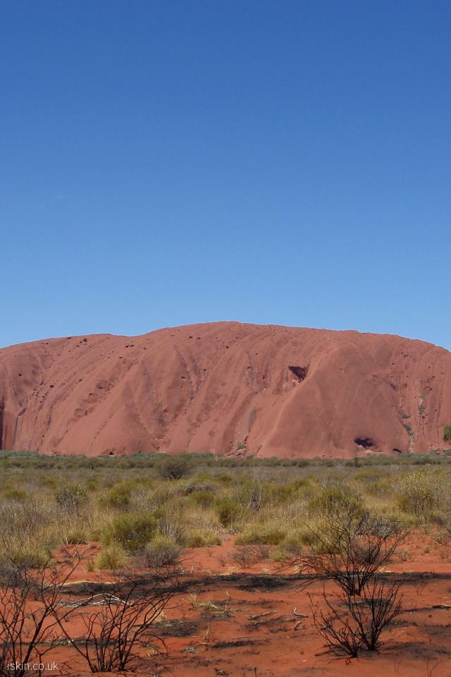 iphone 4 portrait wallpaper Uluru