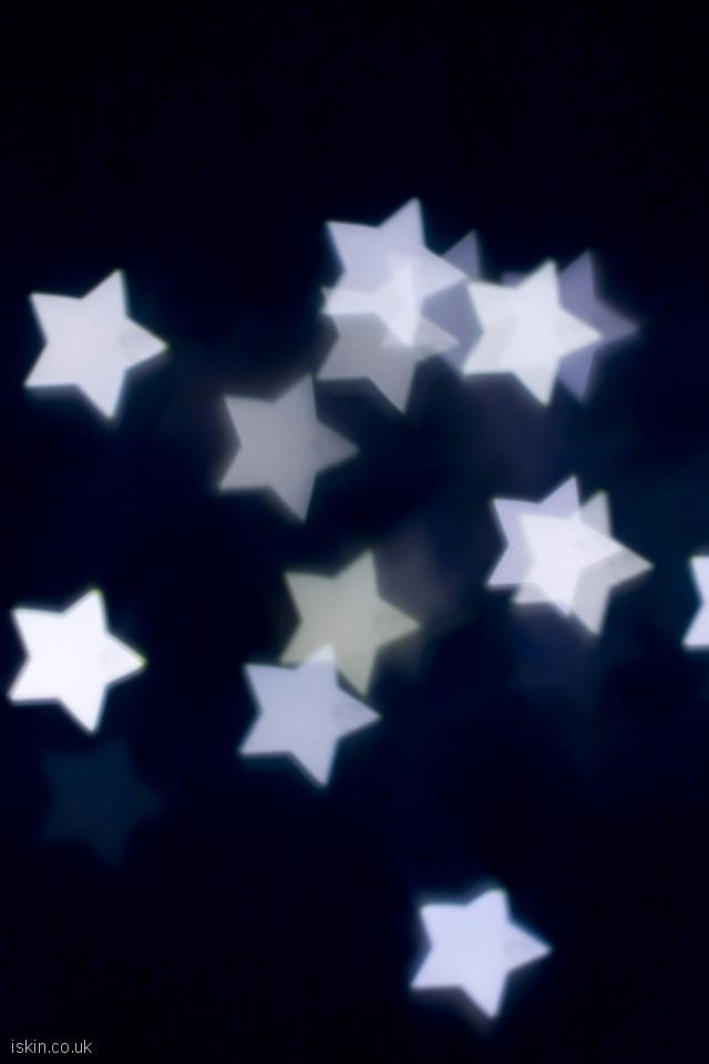 iphone 4 portrait wallpaper White Stars