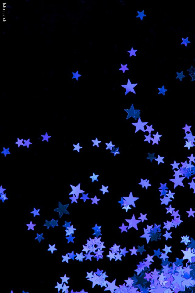 iphone 4 landscape wallpaper purple stars