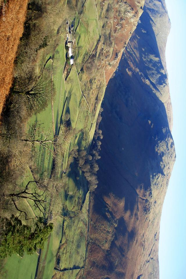 iphone 4 landscape wallpaper Cumbrian Fells