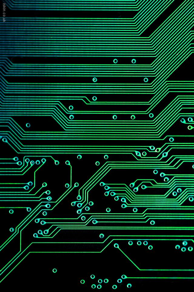iphone 4 landscape wallpaper electronic circuits