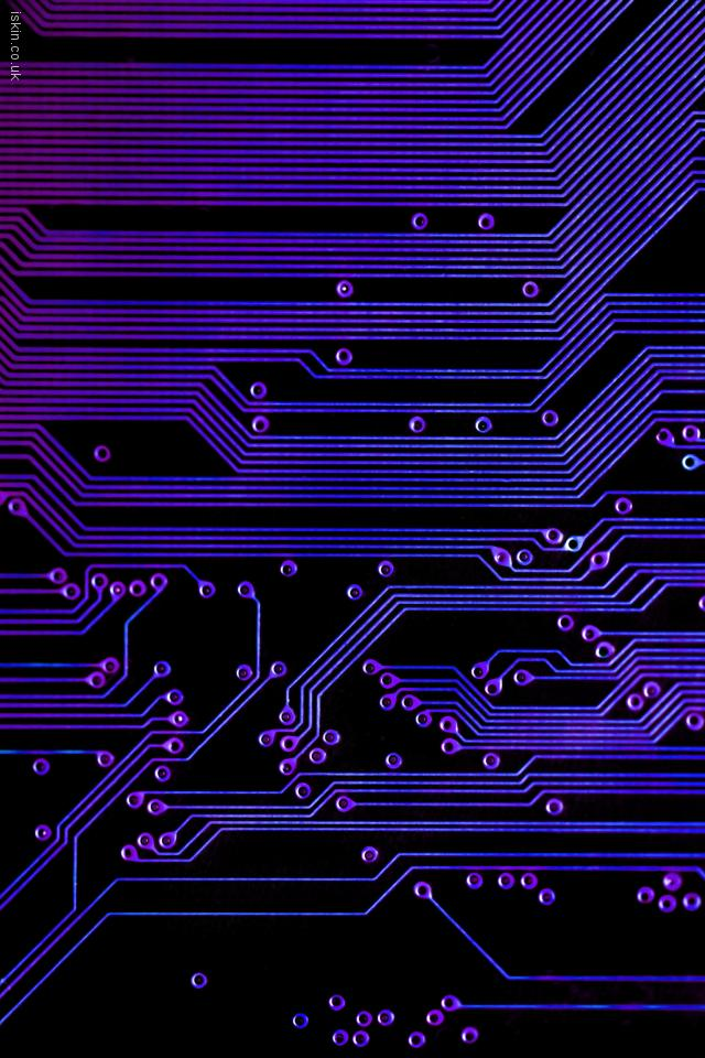 iphone 4 landscape wallpaper printed circuit board