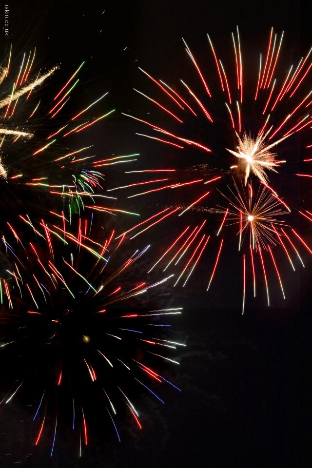 iphone 4 landscape wallpaper Firework Trifecta