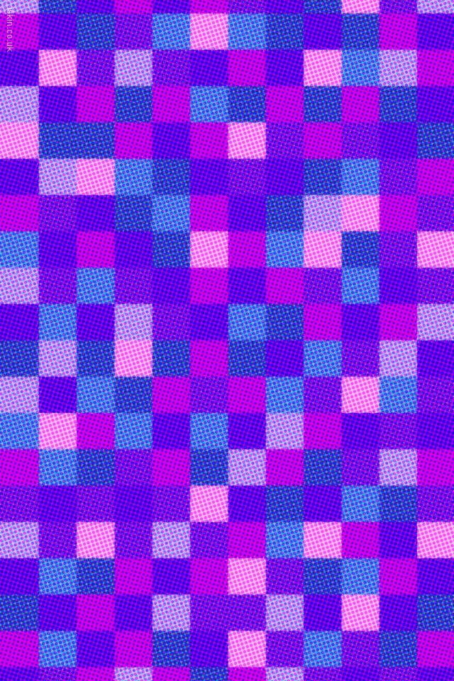 iphone 4 landscape wallpaper halftone dots and squares