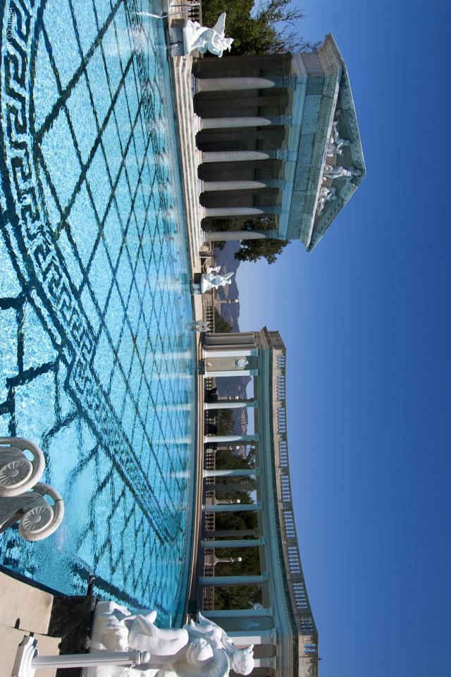 iphone 4 landscape wallpaper hearst castle