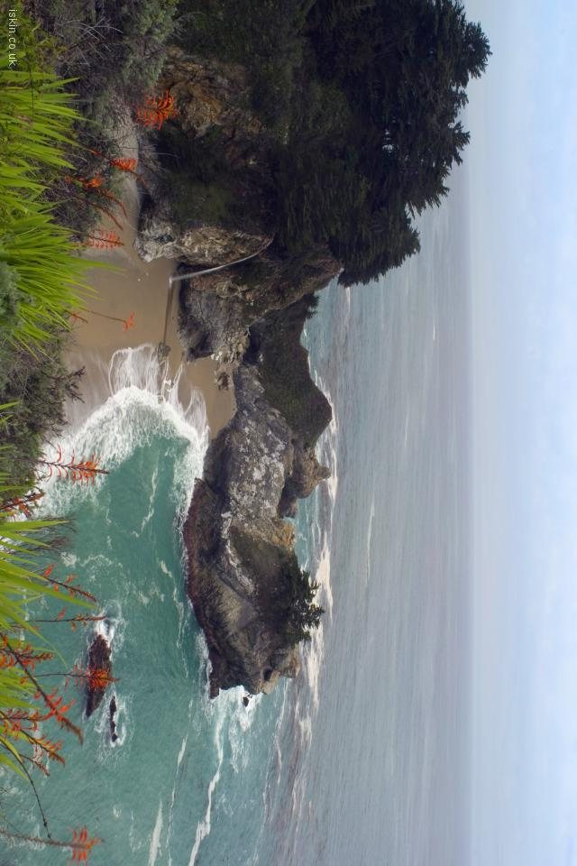 iphone 4 landscape wallpaper McWay Falls