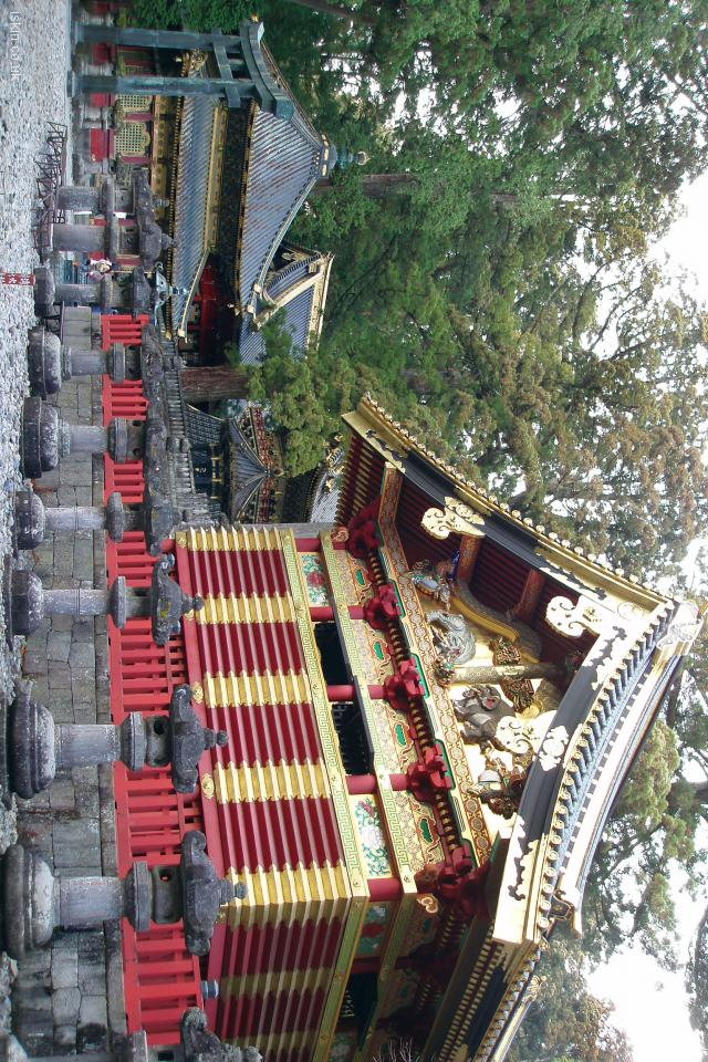 iphone 4 landscape wallpaper Nikko Golden Temple