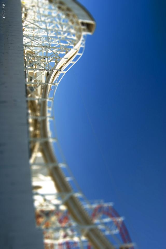 iphone 4 landscape wallpaper Rollercoaster Ride