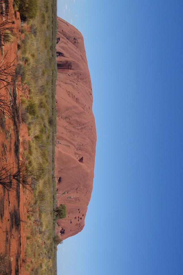 iphone 4 landscape wallpaper Uluru