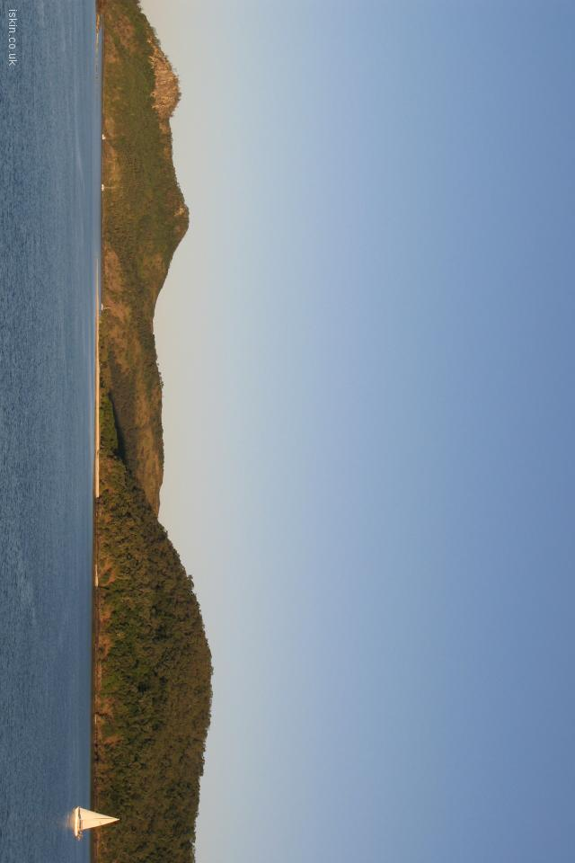 iphone 4 landscape wallpaper Island Paradise
