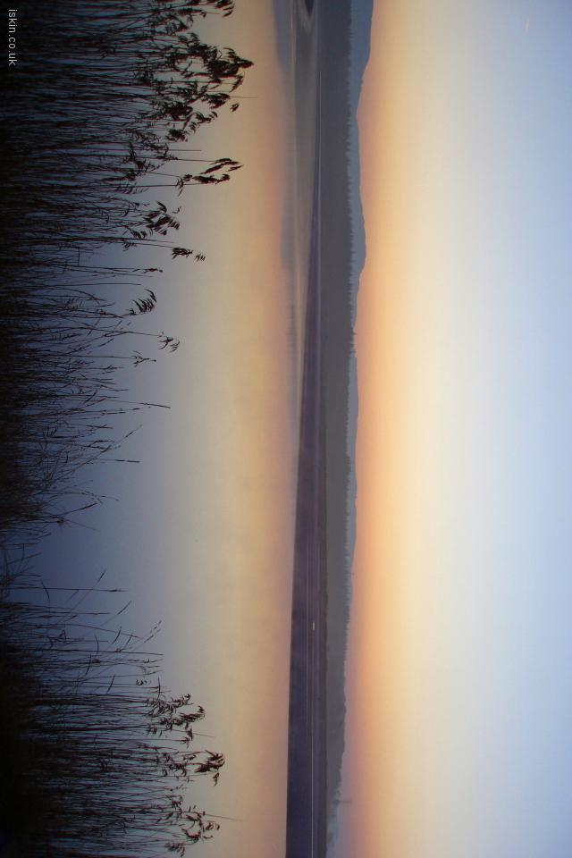 iphone 4 landscape wallpaper Estuary Sunrise