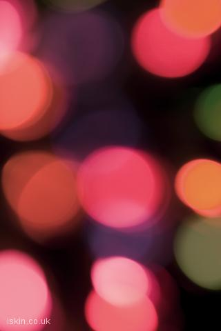 iphone landscape wallpaper Glowing Lights
