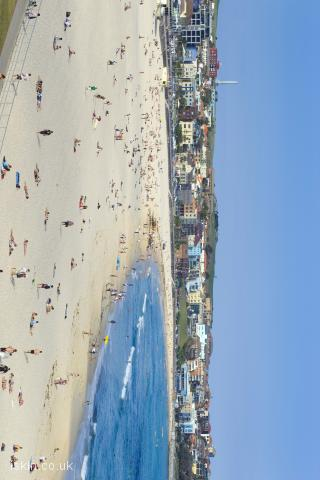 iphone landscape wallpaper Bondi beach