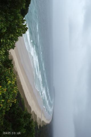 iphone landscape wallpaper Byron Bay Storm