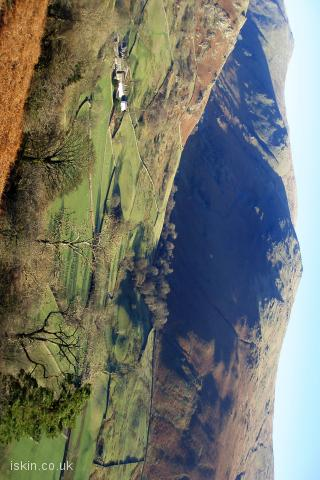 iphone landscape wallpaper Cumbrian Fells