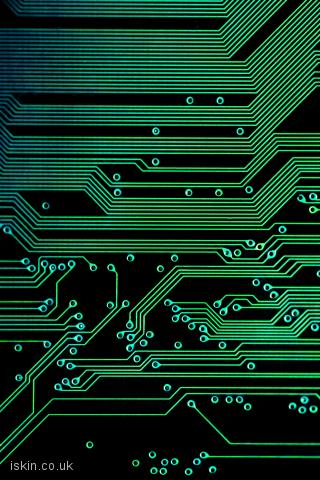 iphone landscape wallpaper electronic circuits